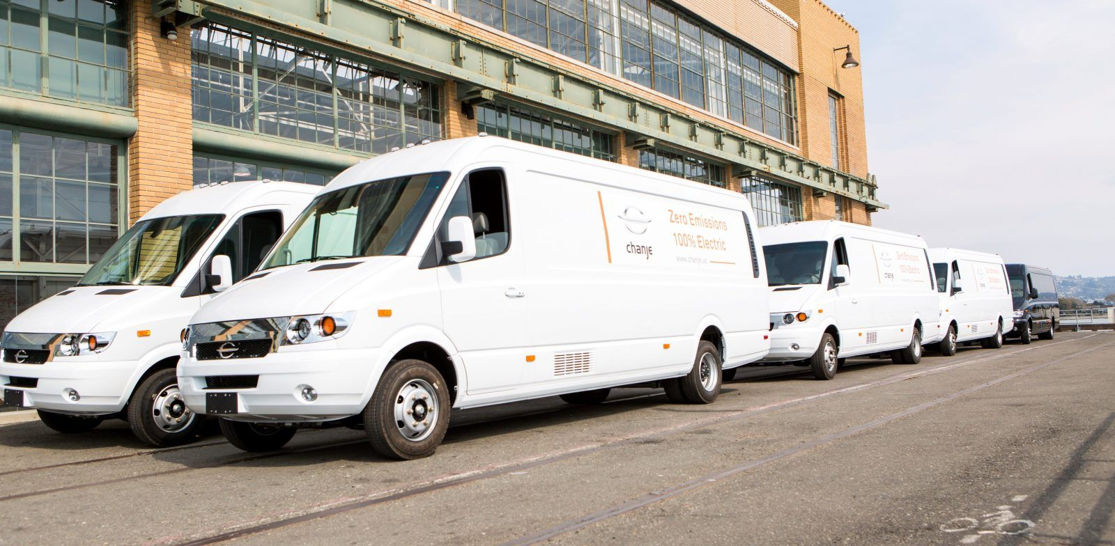 FedEX is getting a fleet of 1,000 electric vans from Chanje