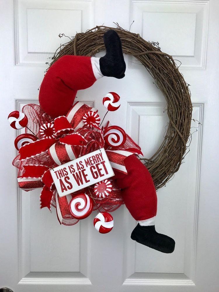 26++ Funny christmas wreath ideas ideas in 2021