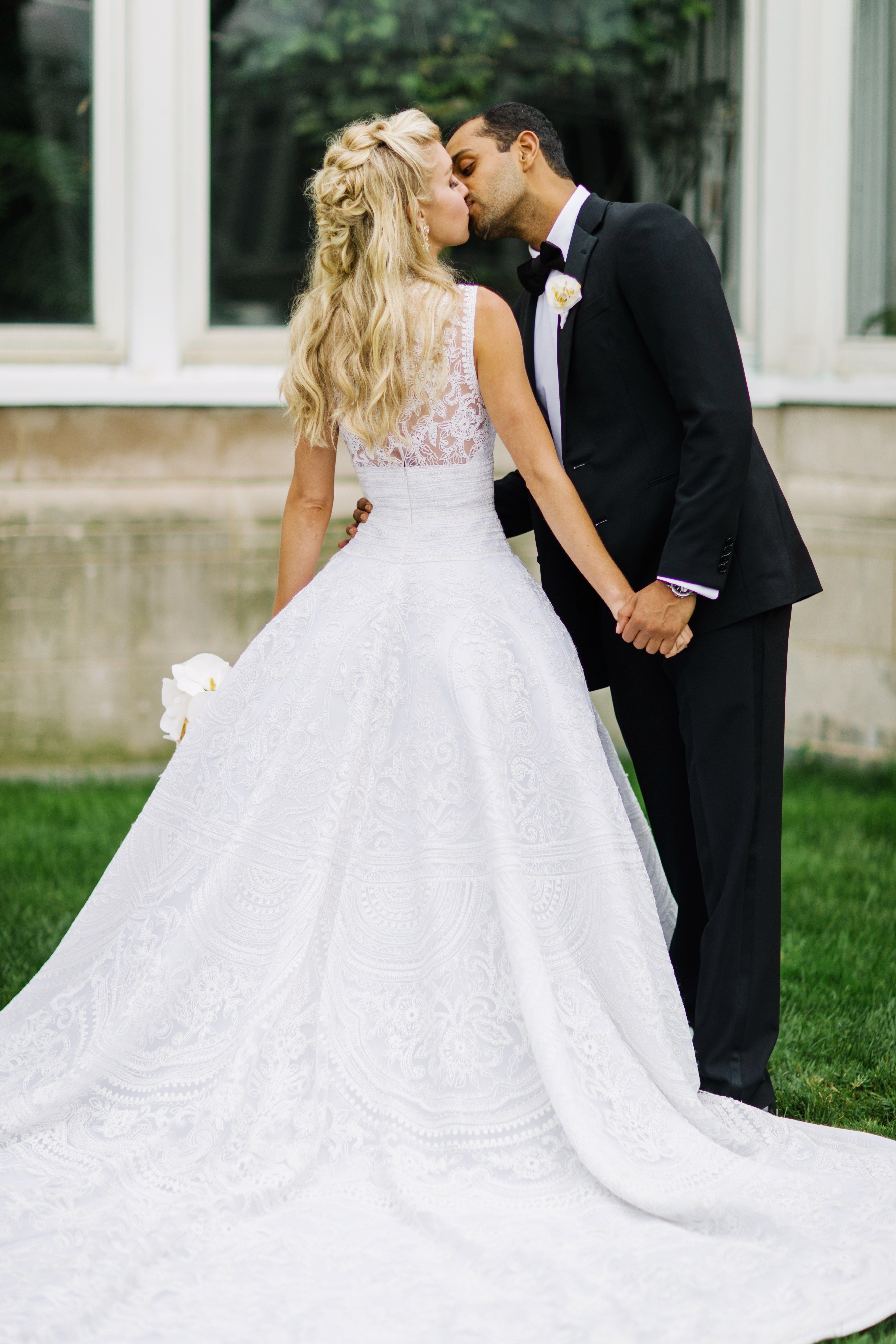The Bride Wore Custom Naeem Khan—and Married the Designer\'s Son!—at ...