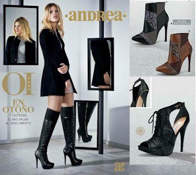 Zapatos Cerrados Andrea Otoño Invierno. Botas andrea b63d4a7157f9