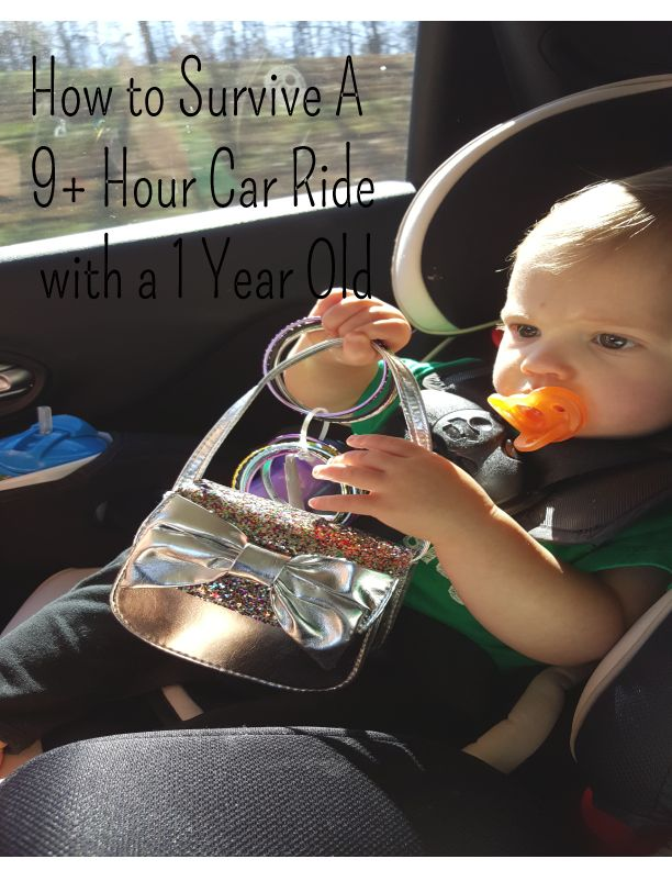 How to Survive a 9+ hour Car Ride with a 1 Year Old | Hint of Geek ...