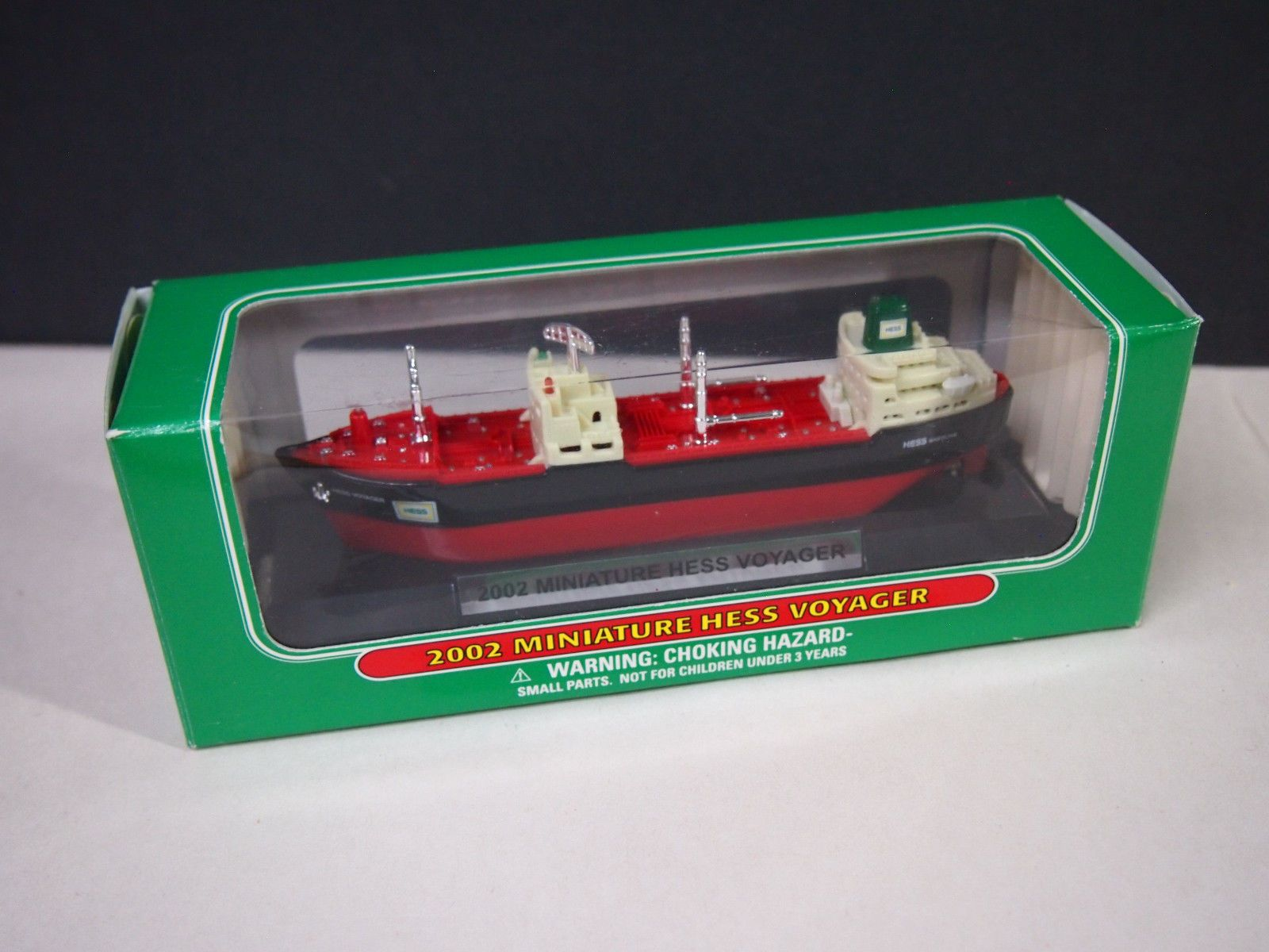 2002 MINI HESS VOYAGER SHIP NEW IN THE BOX