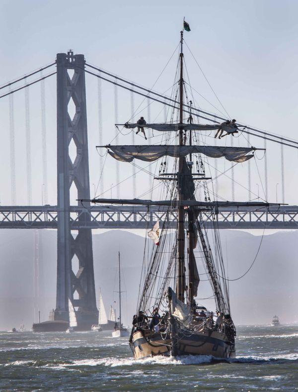 Sail And Savour Washington S San Juan Islands: Hawaiian Chieftain Sails Into San Francisco Bay. #travel