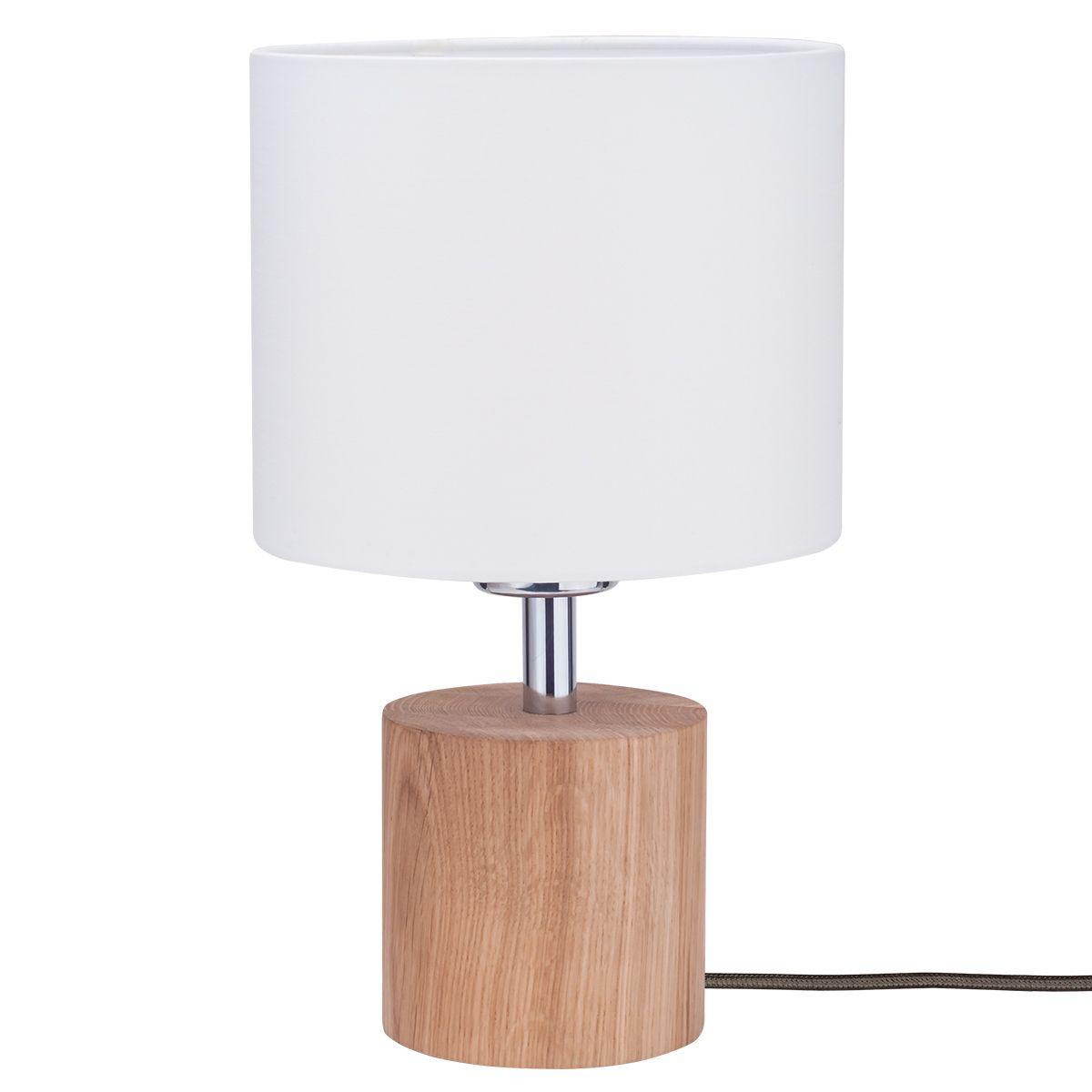 Hübsche Tischlampe Trongo eiche geölt Schirm weiß Jetzt bestellen unter: https://moebel.ladendirekt.de/lampen/tischleuchten/beistelltischlampen/?uid=c693e794-434e-51d4-97d6-b6bdc6a1c19f&utm_source=pinterest&utm_medium=pin&utm_campaign=boards #lampen #tischleuchten #beistelltischlampen Bild Quelle: www.lampenwelt.de