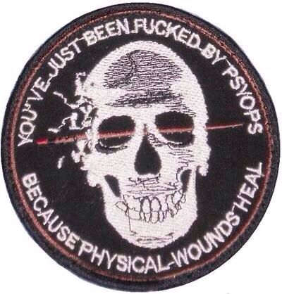 Eagles of war patch, u. S. Army civil affairs & psychological.