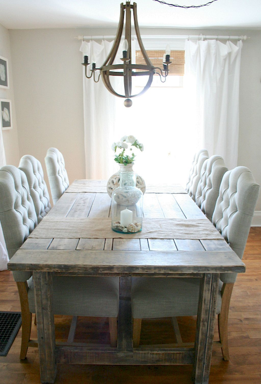 75 Farmhouse Dining Room Decor Ideas