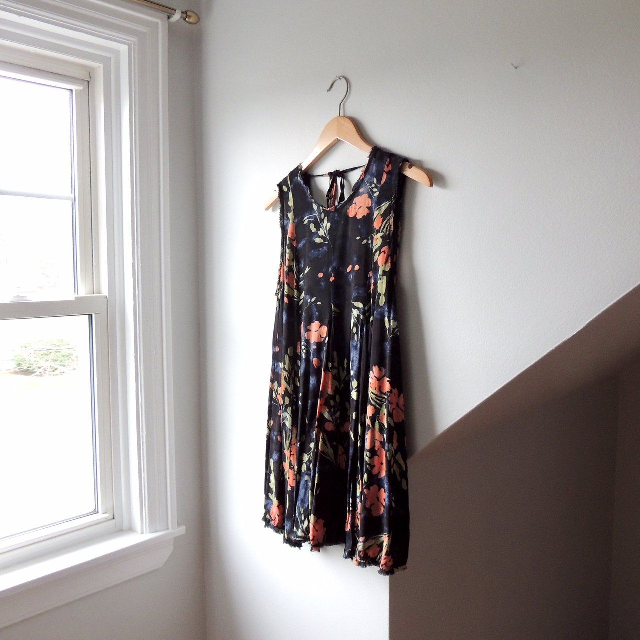 48412266ca1  lisaloveslions on Depop Floral tank dress by Ecote from Urban Outfitters  Size XS (will
