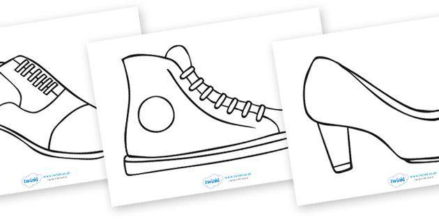 Shoe Design Template | Shoe template