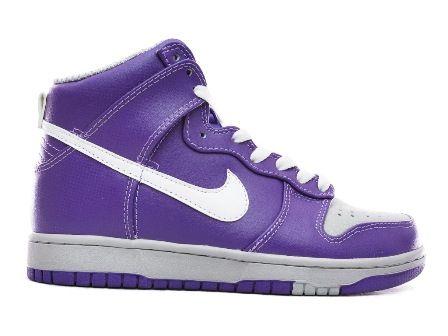 Nike purple high tops | Nike shoes high