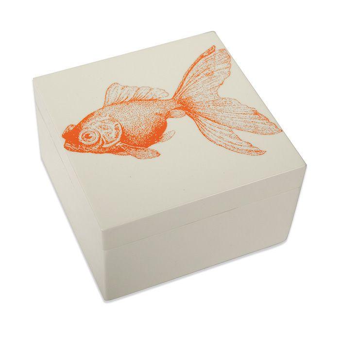 thomas paul goldfish mandarin box decorative boxes shop on extraordinary garden path and walkway design ideas and remodel two main keys id=28189