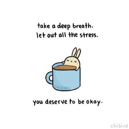 Es fácil quedar muy estresada y ansiosa y desgastado. No deje que su situación recibe el superior de la mano-tomar una respiración profunda y sólo sé que usted puede hacerlo!