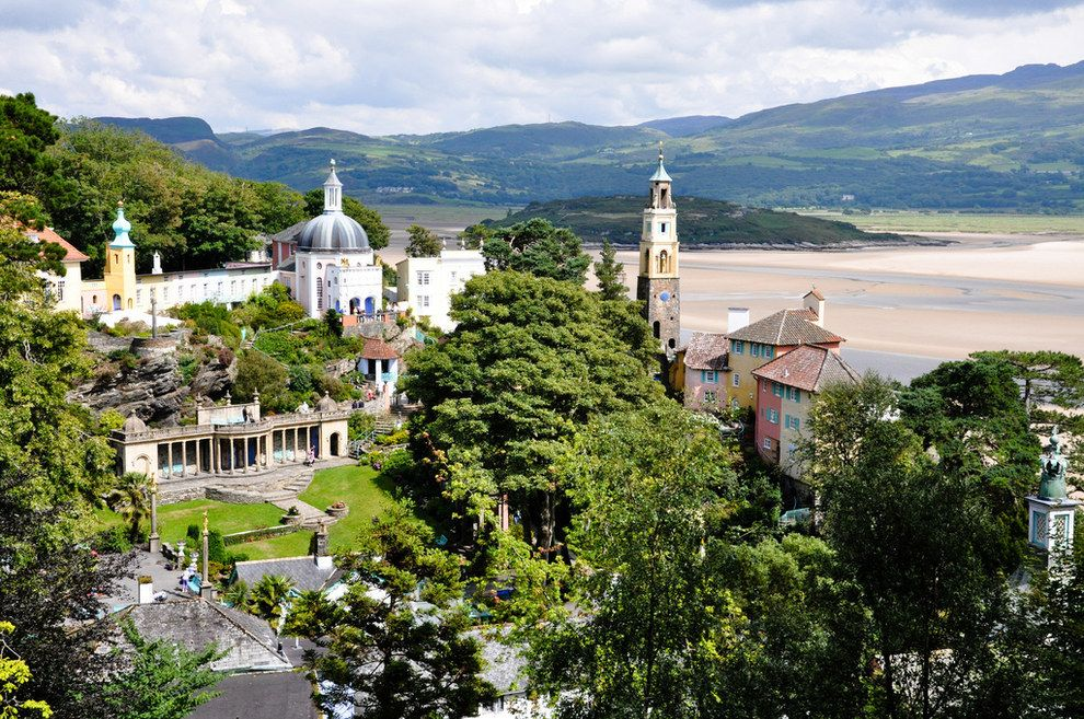 Portmeirion, Wales | 18 Charming Seaside Towns In Britain You Must Run Away To