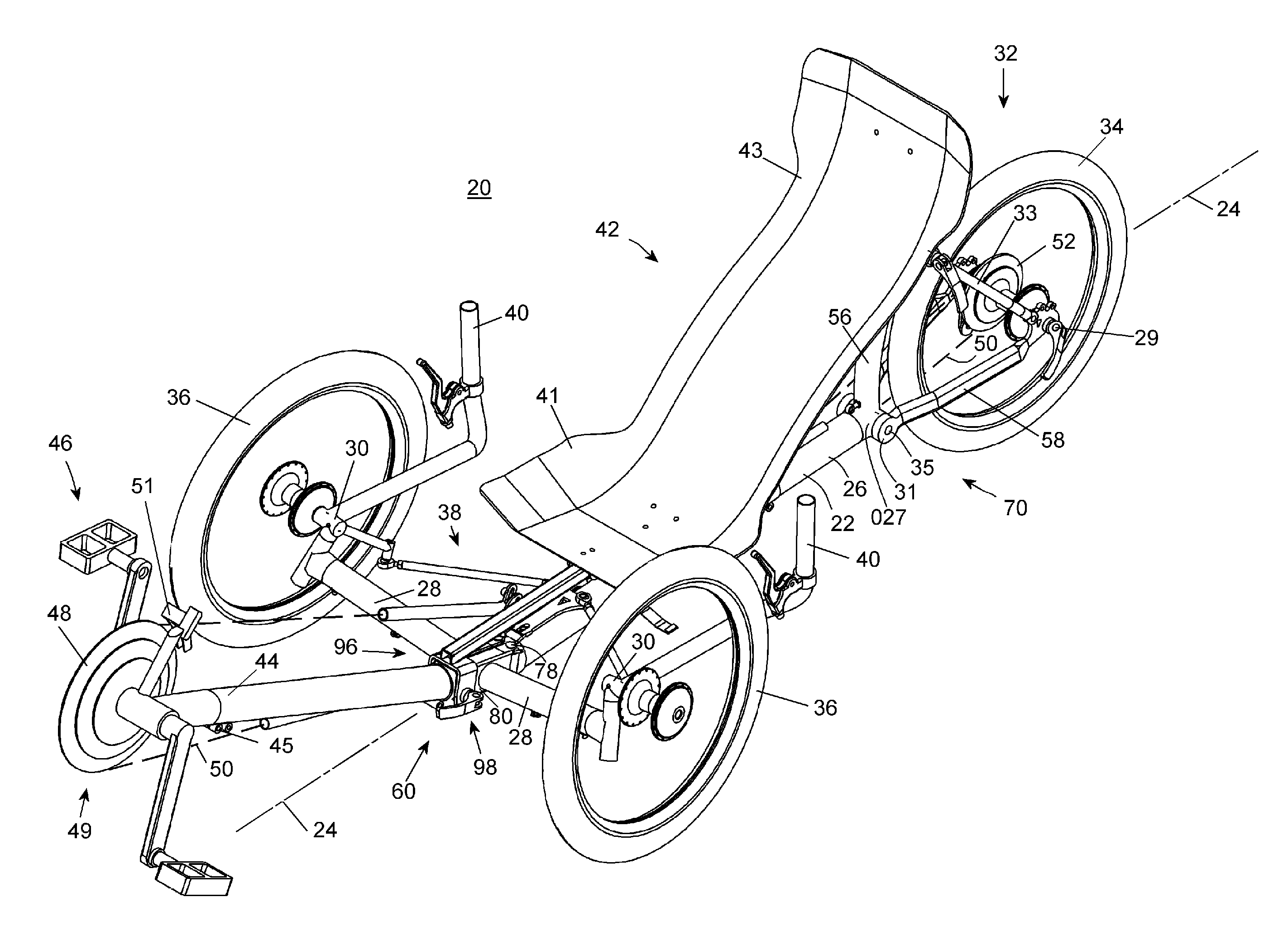 Easy Recumbent Bike Plan