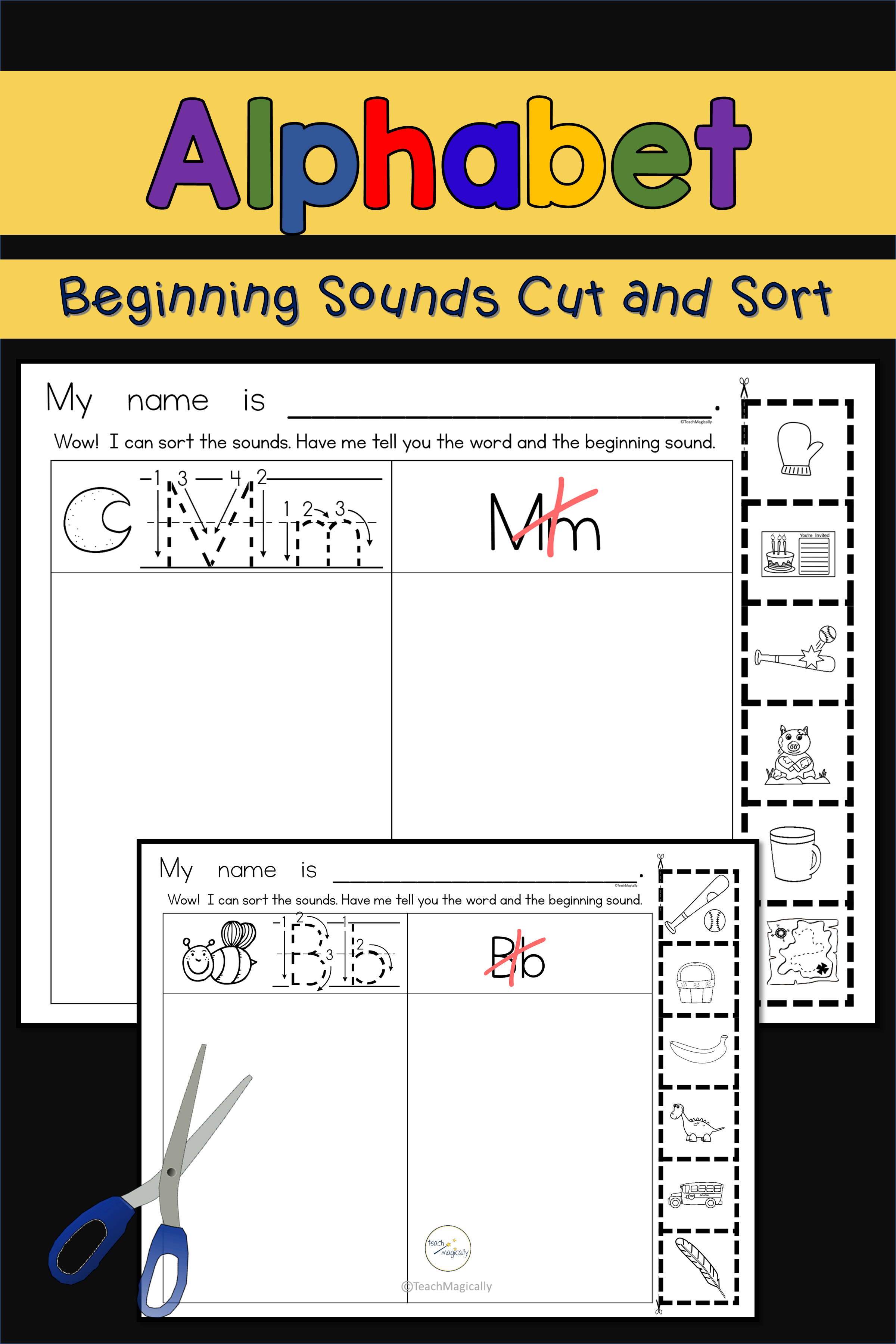 Pin On Beginning Sounds Beginningsounds