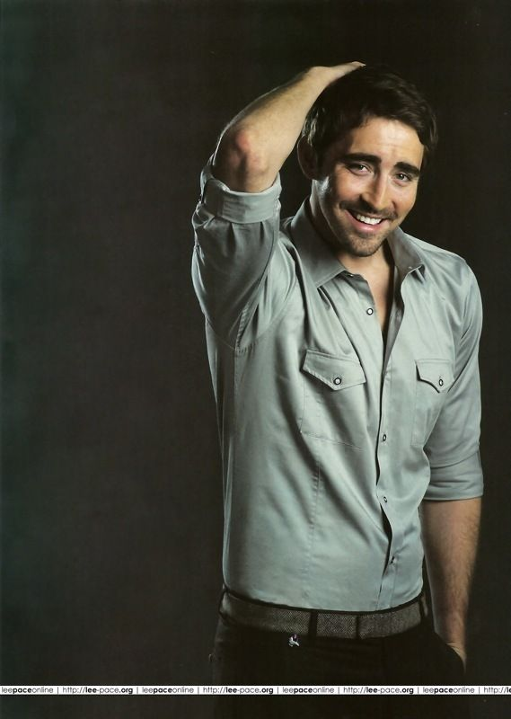 Lee Pace.....I can't even take it. I love him. Biggest celebrity crush of all time? I think, yes!