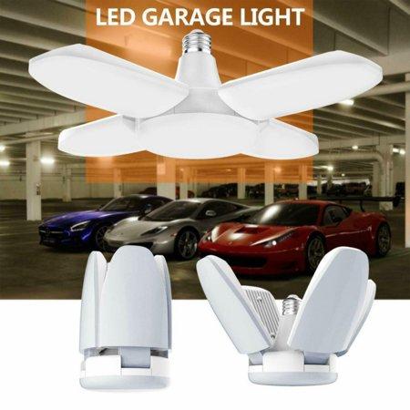 Led Garage Lights Led Garage Lighting 60w Deformable Garage Ceiling Lights Panels Shop Lights Led Light Bulb Led Garage Lights Garage Lighting Led Shop Lights