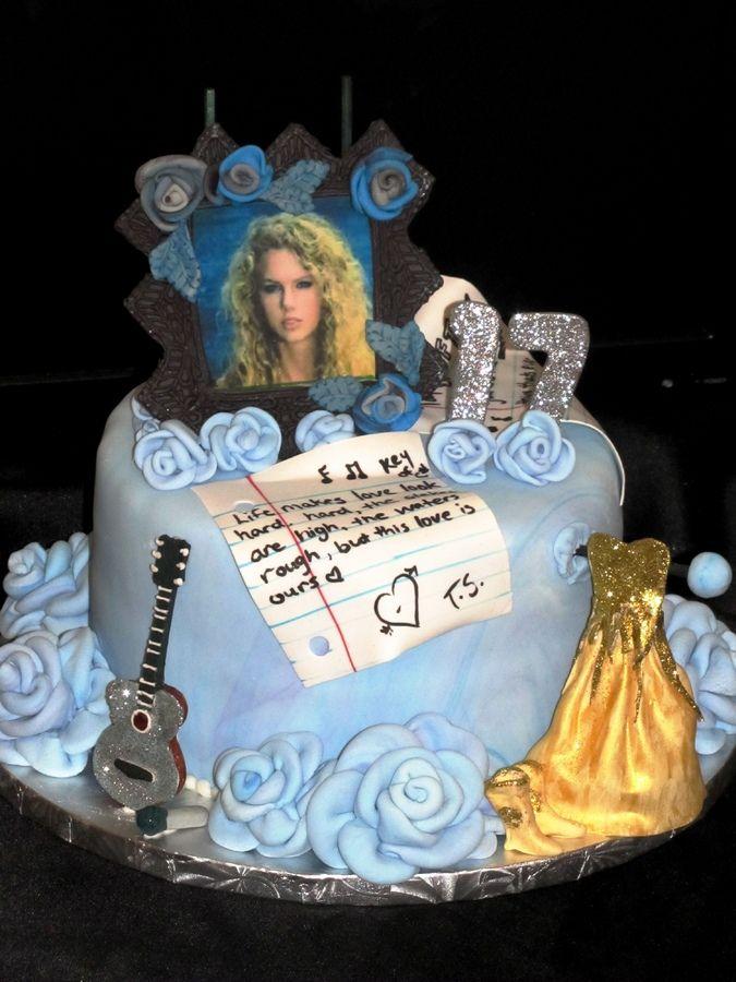 Miraculous Taylor Swift Birthday Cake With Images Taylor Swift Birthday Funny Birthday Cards Online Elaedamsfinfo