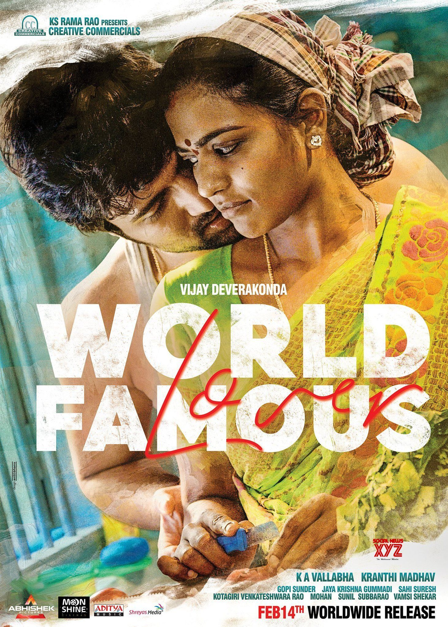Vijay Deverakonda And Aishwarya Rajesh First Look Posters From World Famous Lover Movie Vijaydeverakonda Full Movies Download Download Movies Movie Lover