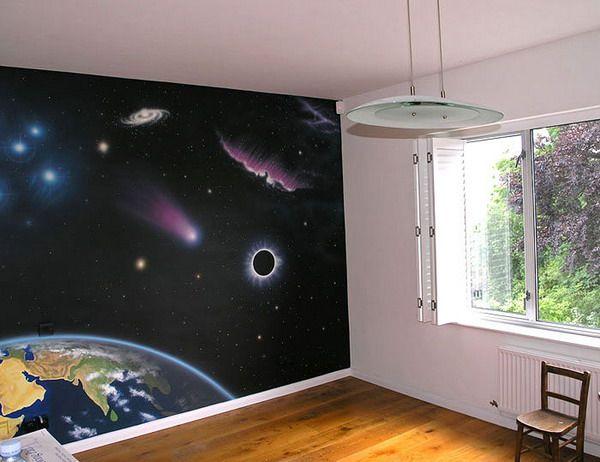Space Wall Niroom Pinterest Wall Paintings Spaces
