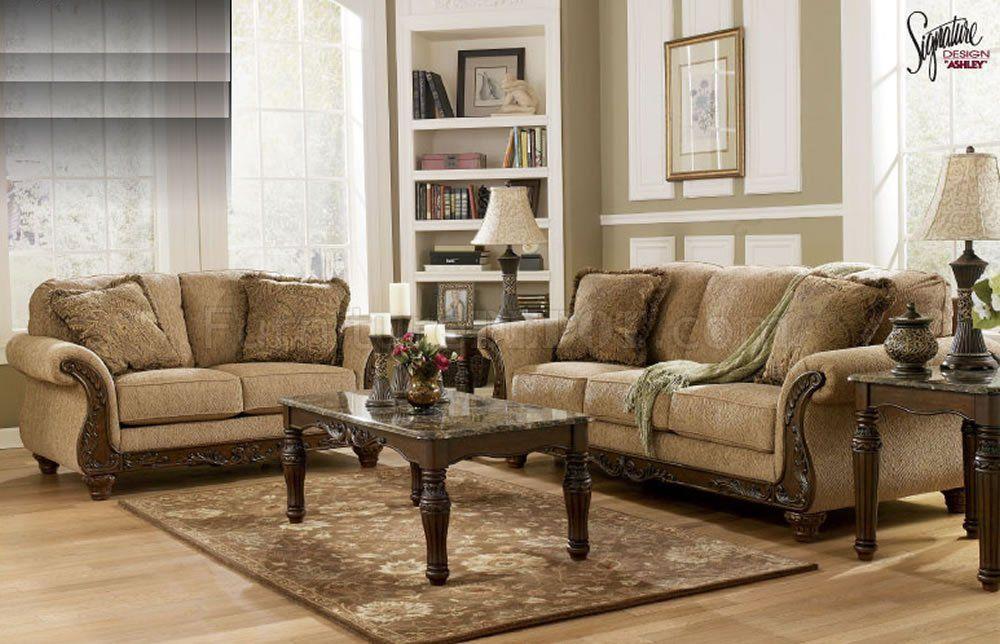Fabric Sofa And Loveseat