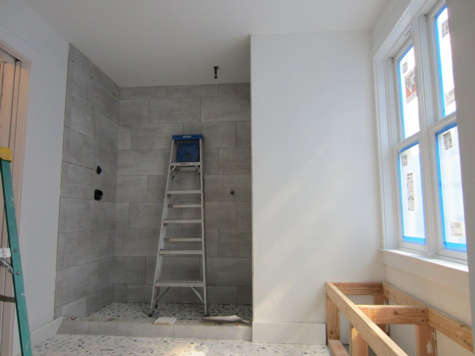 Tile Brick Pattern Shower Images Gio Gio Design Master Bathroom Progress House Decorating