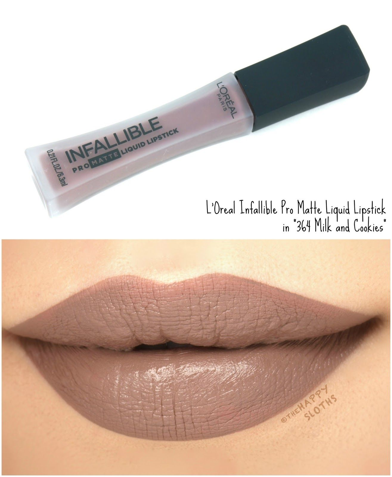 L'Oreal Infallible Pro Matte Liquid Lipsticks Review and