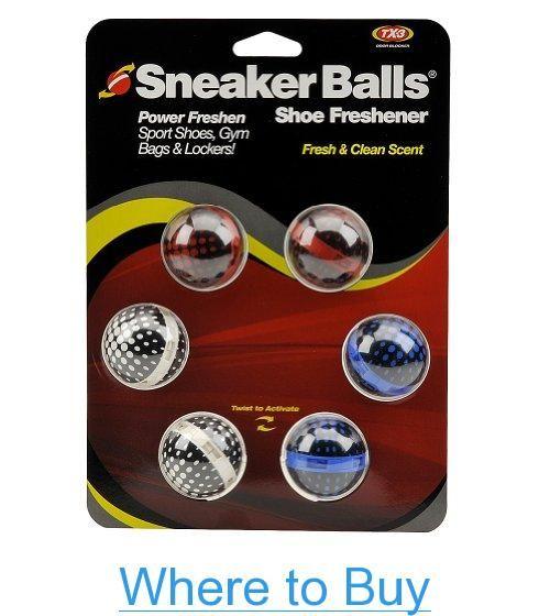 Sof Sole Sneaker Balls 6-Pack Shoe