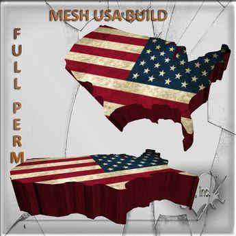 Mesh Build USA 3  impact Full perm