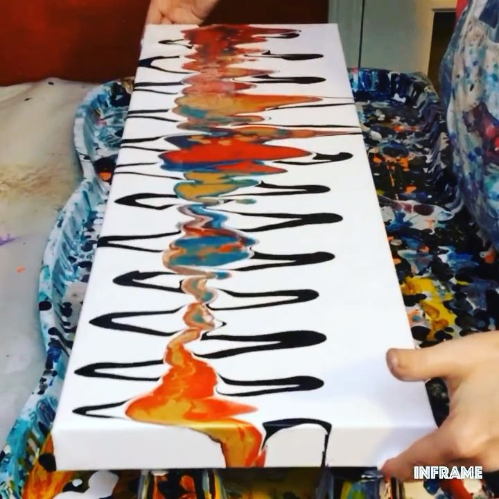 Photo of Fluid Acrylic Painting Video