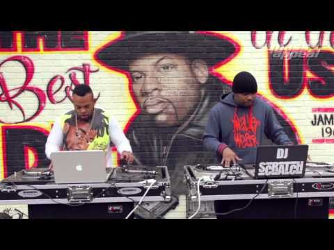 Video: Jam Master Jay Tribute Featuring His Son TJ Mizell DJ Scratch On The Boards In Honor Of His Birthday - #THISIS80