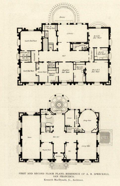 Danismm Architectural Floor Plans Mansion Plans Mansion Floor Plan