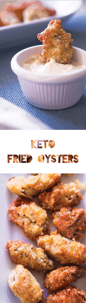 Keto Fried Oyster Recipe Low Carb Gluten Free Effing Delish Oyster Recipes Fried Oysters Keto Recipes Easy