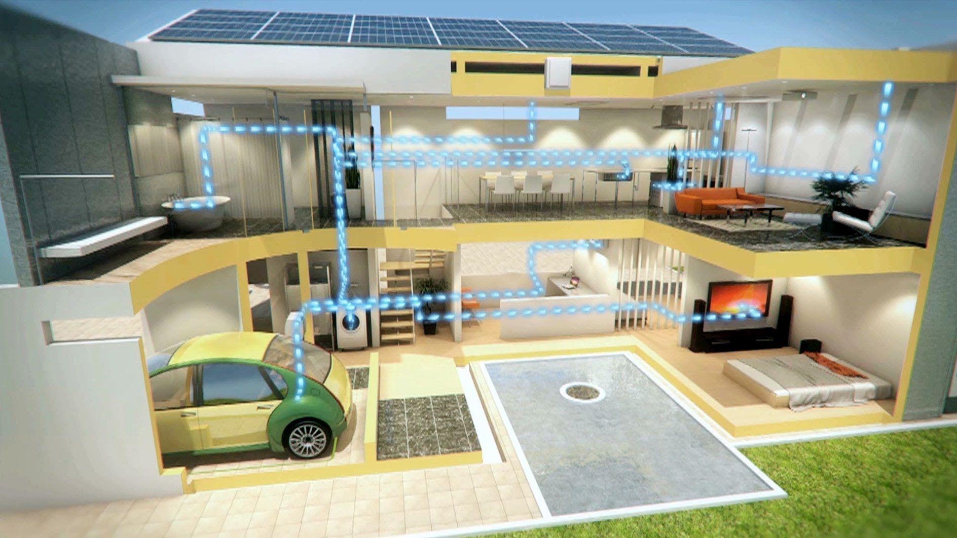 Intermeidate General Smart Green Homes Of The Near Future