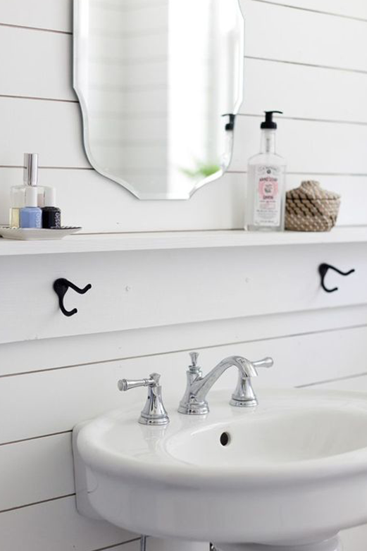 Beautiful Small Bathroom Sinks with Storage