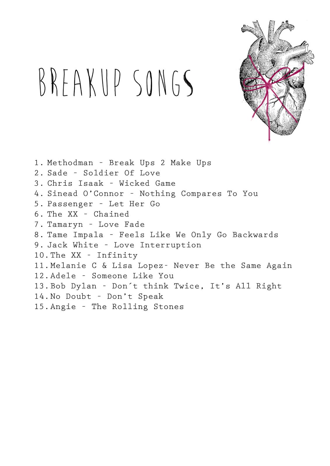 wass: Breakups Playlist #breakups | Playlist in 2019