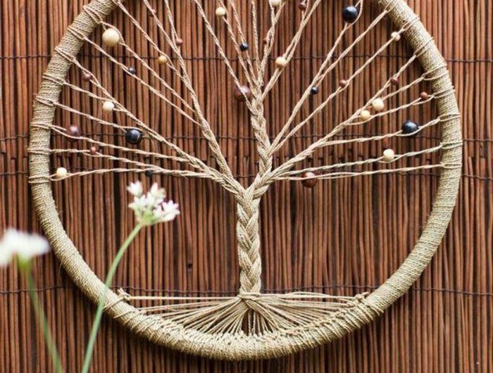 fabriquer-un- attrape-reve-modele-tres-interessant-de-capteur-de-reve-avec-un-filet-imitant-un-arbre-dreamcatcher-rêve