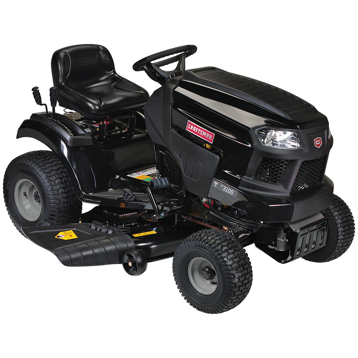 Craftsman 27334 54 24 Hp Briggs Stratton V Twin Riding Mower With Smart Lawn Technology Riding Mower Riding Mower