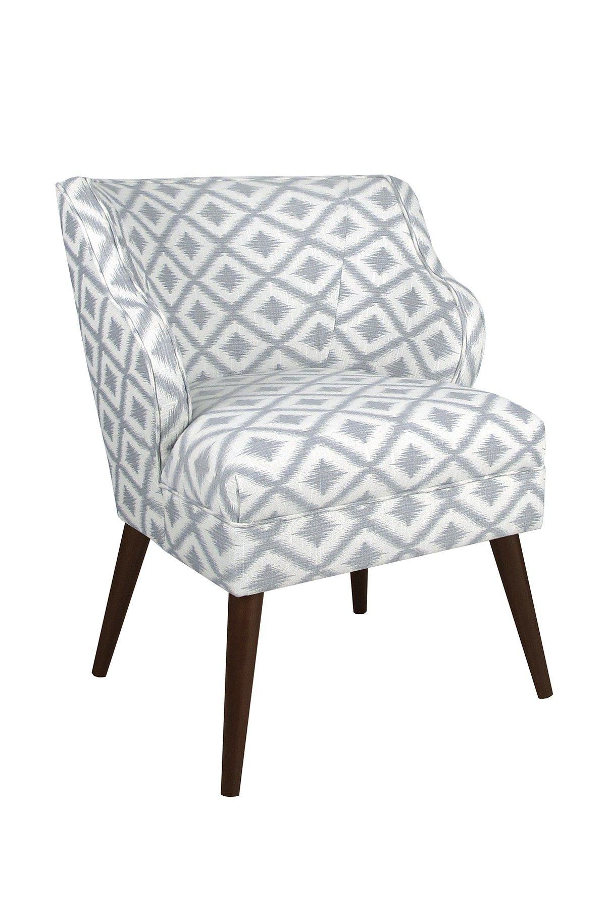 Modern Chair Ikat Fret Pewter Teamhrycyk Myitworks Com Www