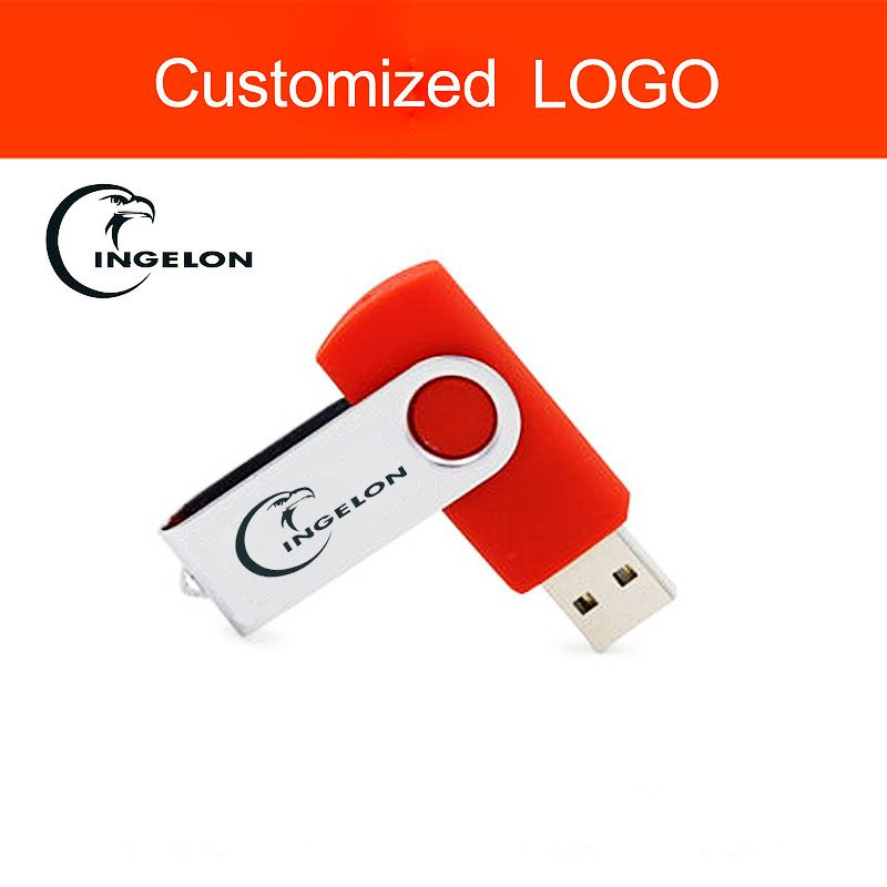 INGELON USB Flash Drive 16GB 2.0 usb memory sticks pen drive USB 2.0 16gb pendrives Flash memoria Stick Laser engraving pendrive