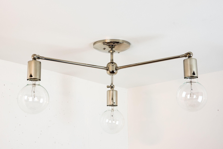Modern Chrome Chandelier Nickel Modern Light Ceiling Light