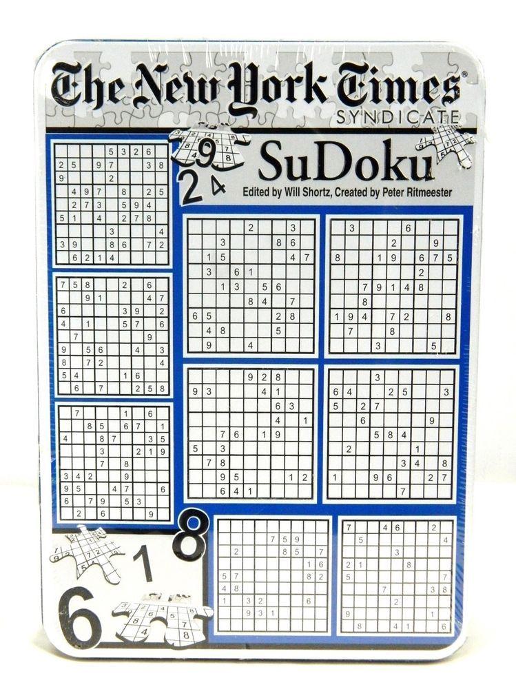 The New York Times Syndicate Sudoku 500 Piece Jigsaw 2