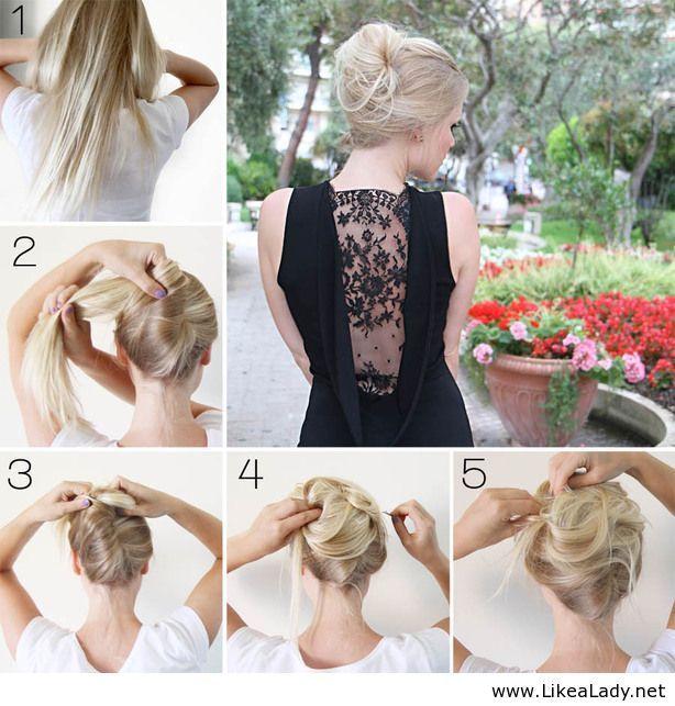 Elegant Hairstyle Tutorial