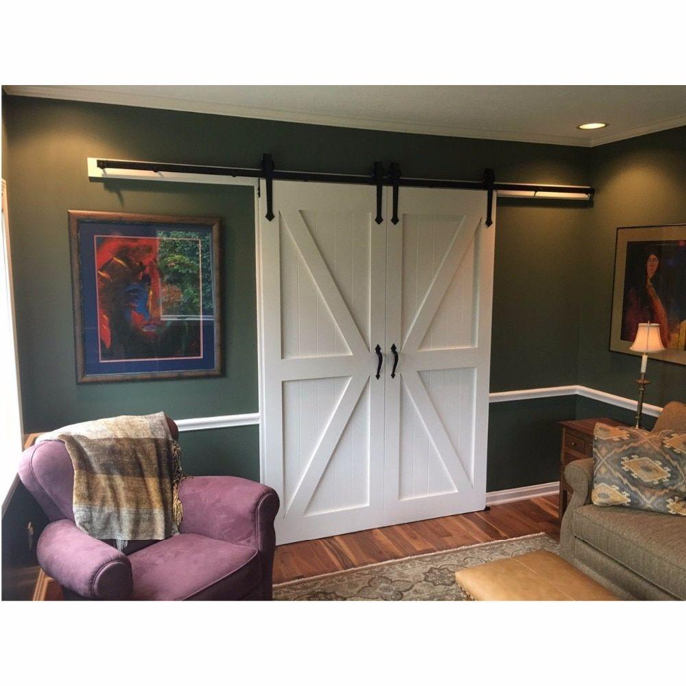 160 Reference Of Barn Door Contemporary Double In 2020 Interior Barn Doors Double Sliding Barn Doors Diy Barn Door