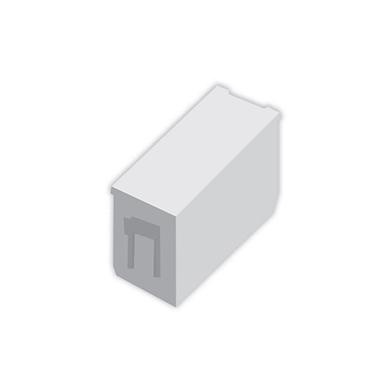 Lot De 10 Entretoises Aluminium A Sceller Klos Up Blanc Naterial Entretoise Blanc