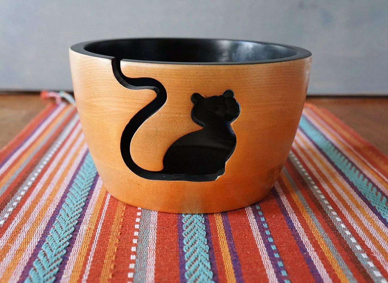 diy yarn bowl craft