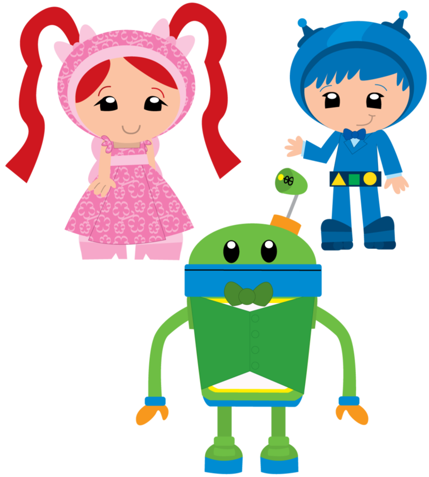 Fancy Team Umizoomi by ChameleonCove