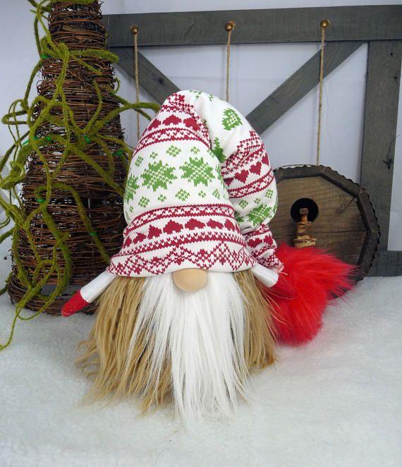 Handmade Scandinavian/Nordic Gnome/Tomte/Nisse   Duendes ...