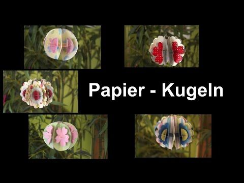 Papierkugel / RuthvonG - YouTube