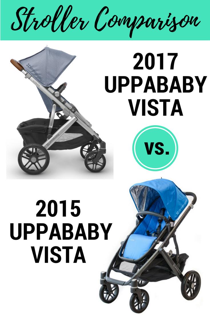 2017 UPPAbaby VISTA vs. 2015 UPPAbaby VISTA Vista