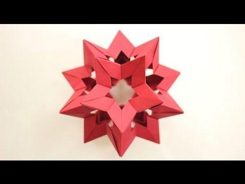 origami kusudama star